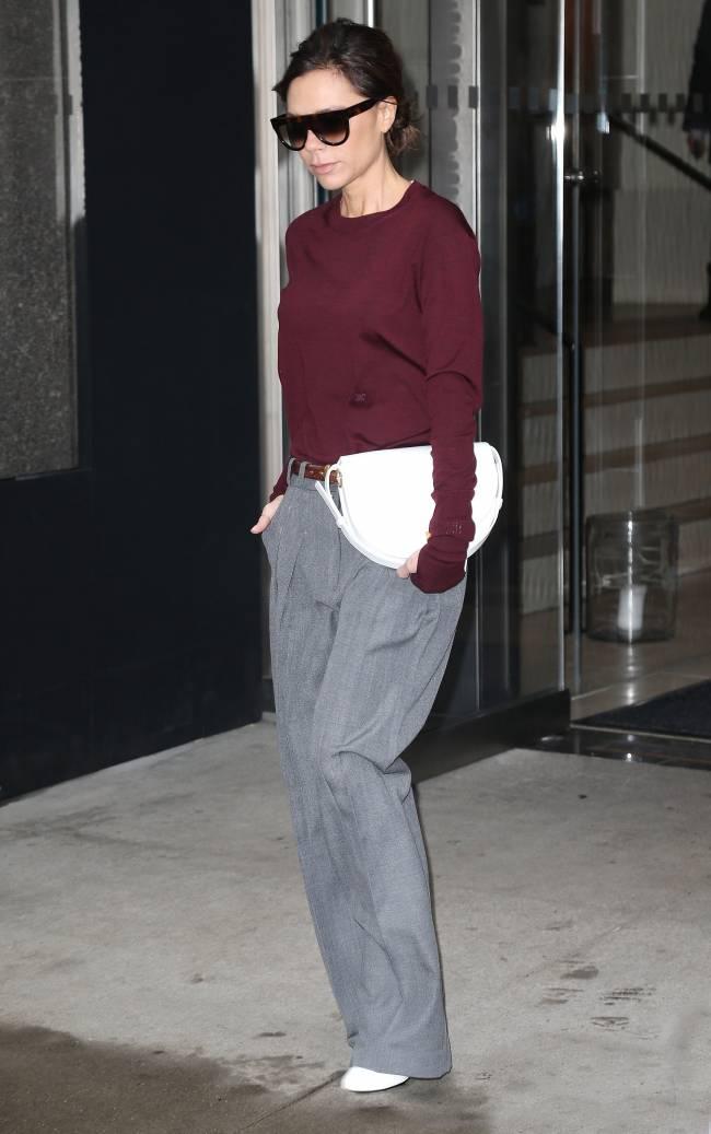 Виктория Бекхэм покоряет улицы Нью-Йорка отменным стилем