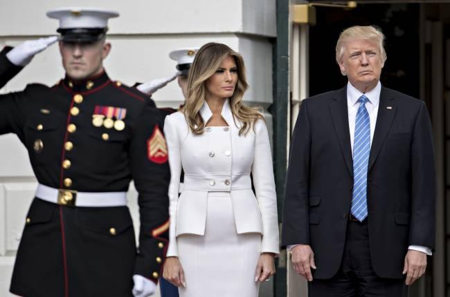 Добро пожаловать, первая леди: Мелания Трамп впервые официально посетила Белый дом