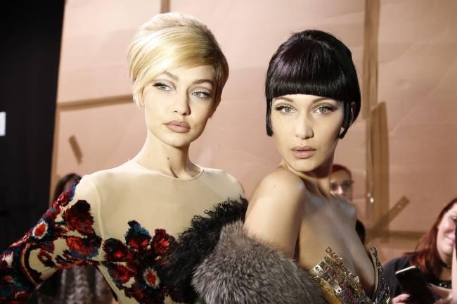 Такие похожие и такие разные: сестры Джиджи и Белла Хадид позируют вместе