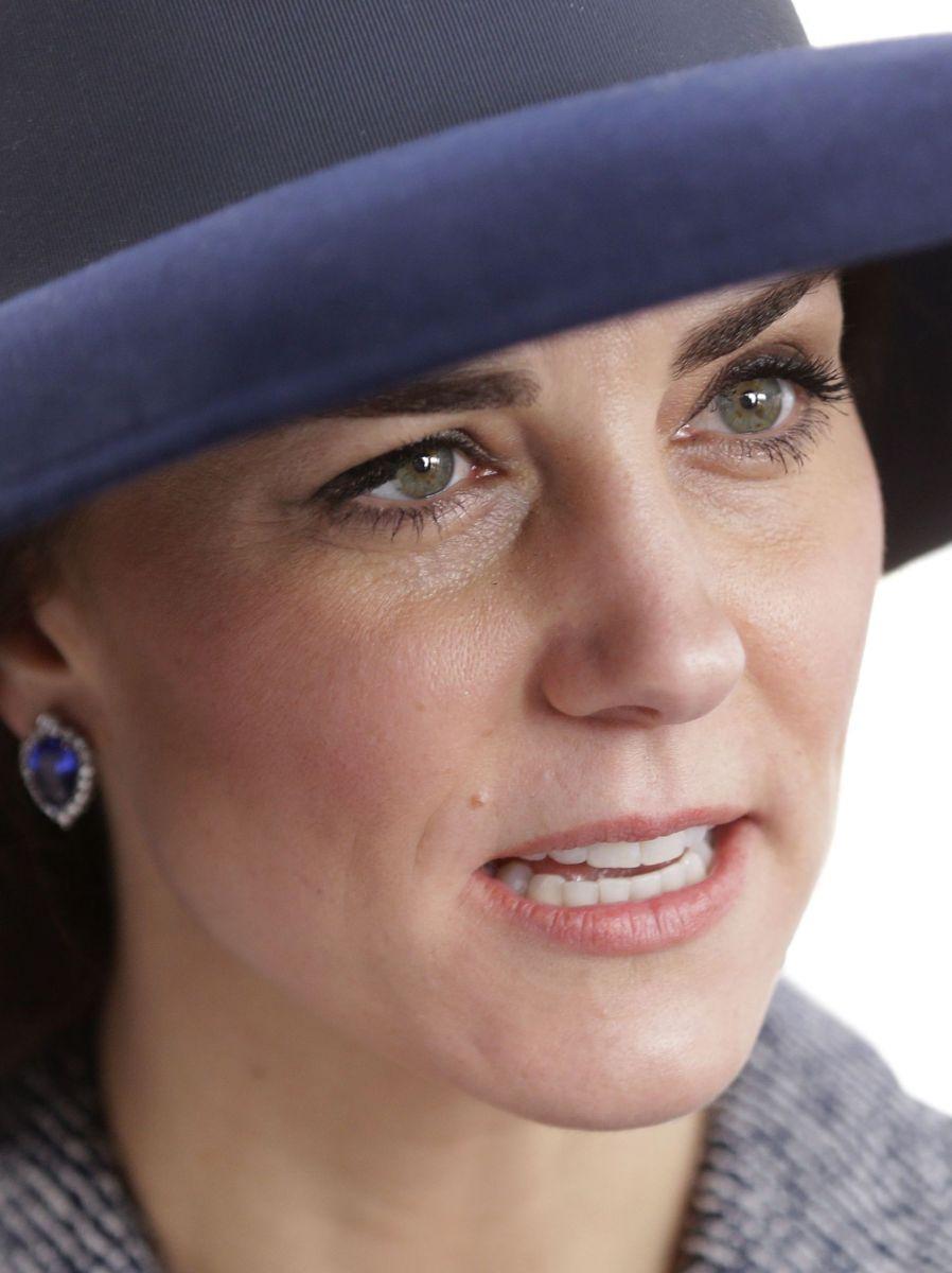 Кейт Миддлтон крупным планом: такая же красивая?