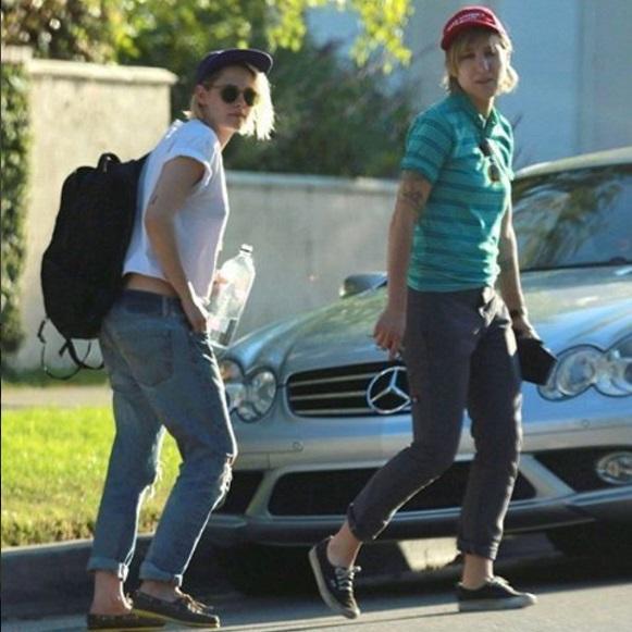 Фотофакт: Кристен Стюарт вновь замечена с экс-возлюбленной