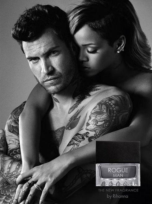 Рианна снялась в рекламе мужского парфюма