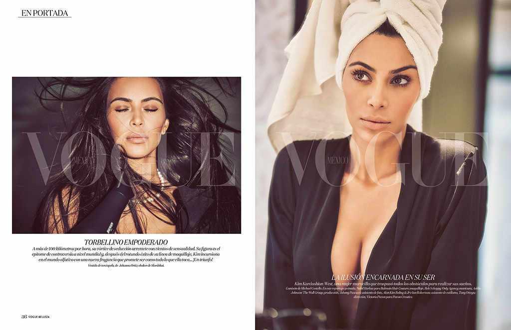 Обнаженная в бриллиантах: Ким Кардашьян снялась в роскошной фотосессии для Vogue