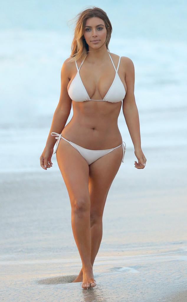 Аппетитная красота Ким Кардашьян