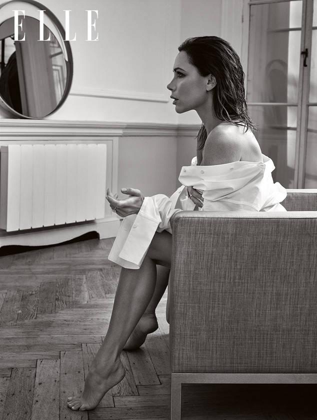 Женщина-идеал: Виктория Бекхэм снялась в фотосессии для британского глянца