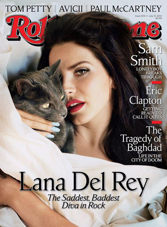 Лана Дель Рей обнажилась для журнала Rolling Stone