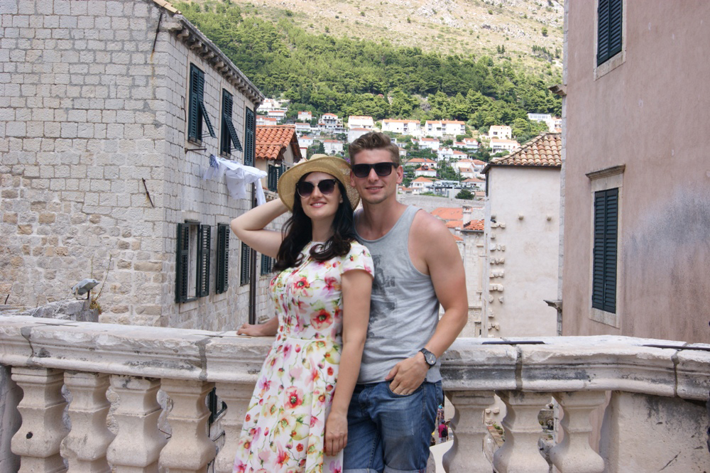 Соломия Витвицкая и ее муж Влад Кочатков на отдыхе