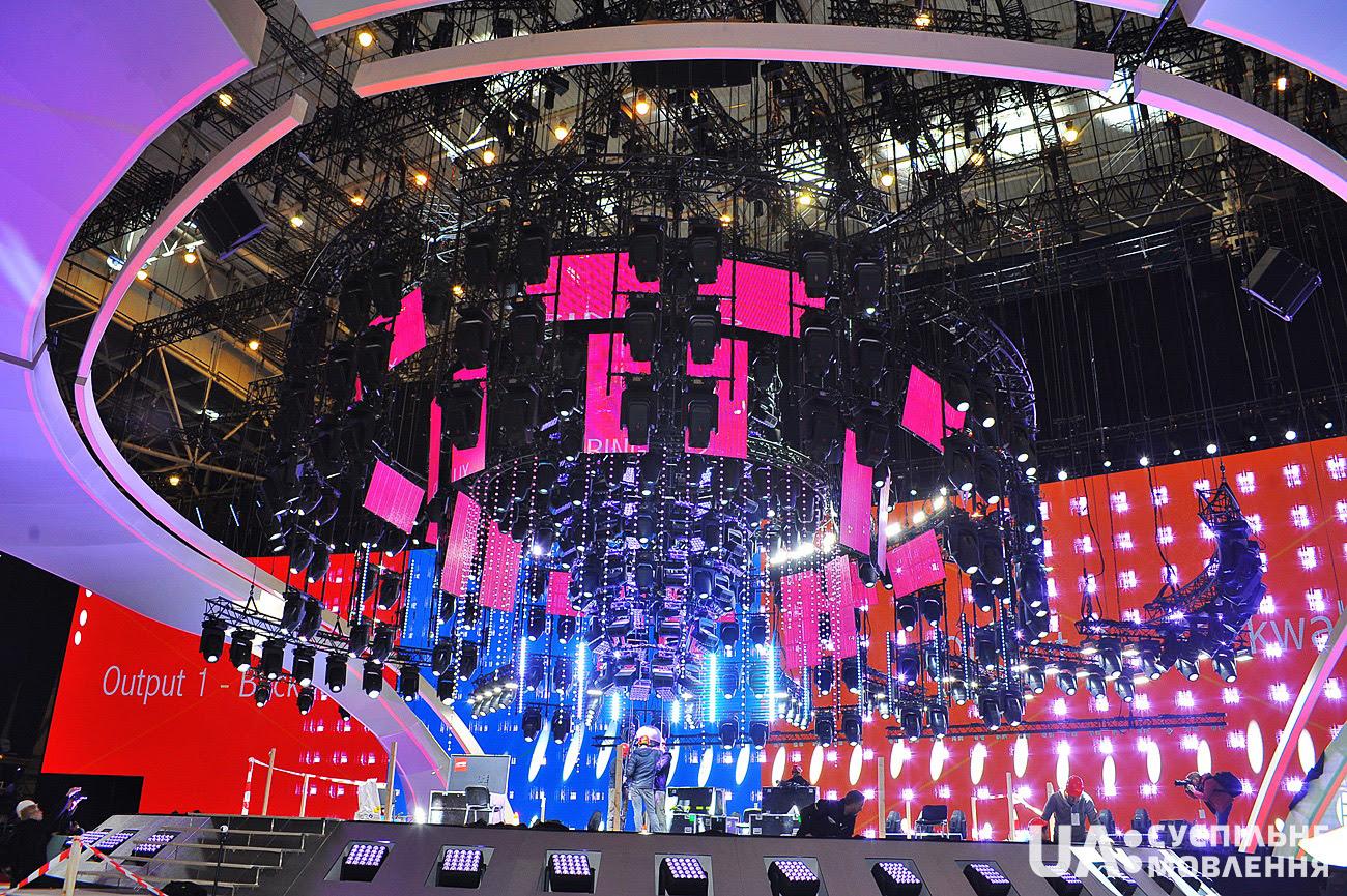 Организаторы презентовали готовую сцену Евровидения-2017