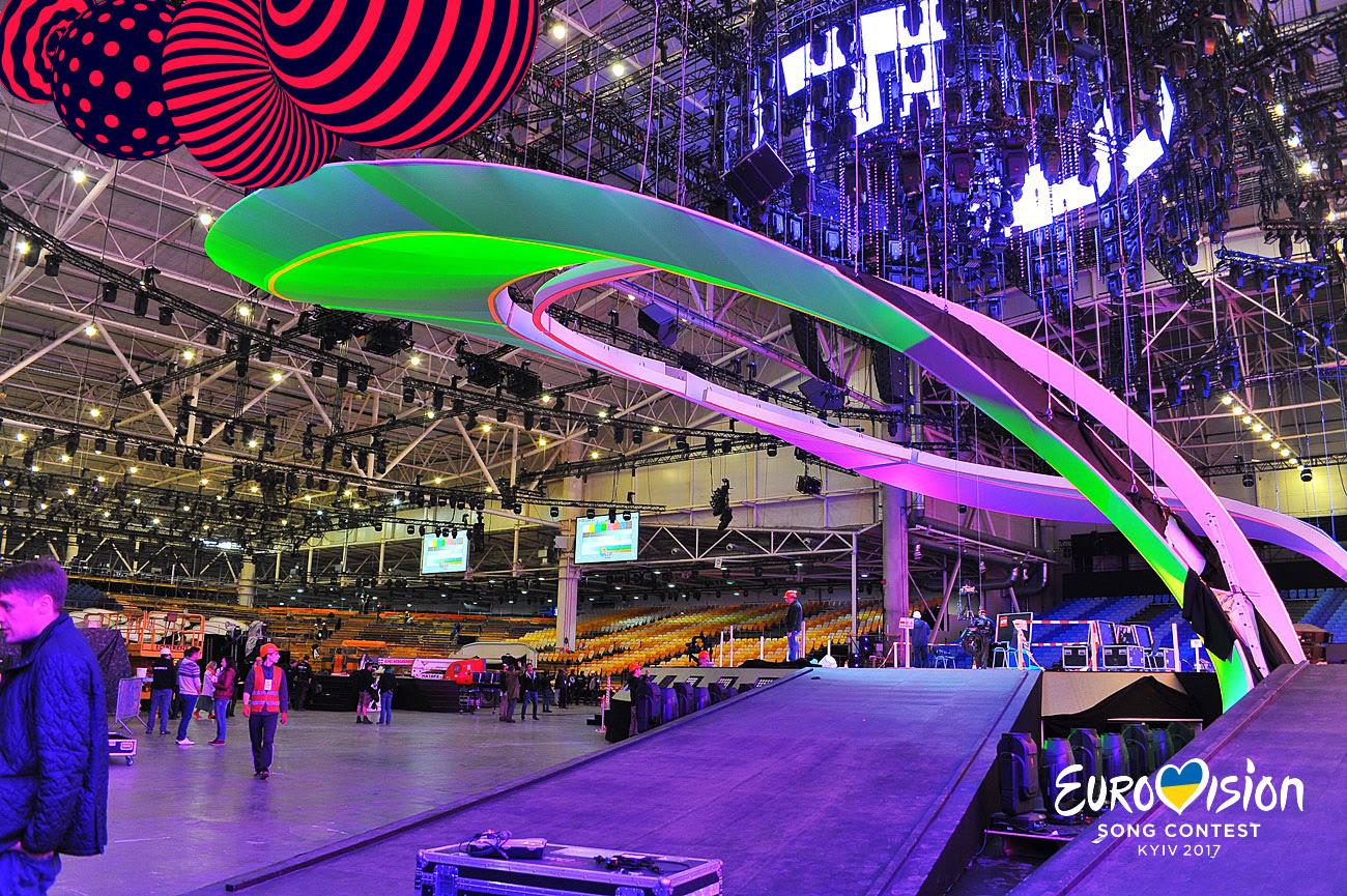 Фото: как выглядит сцена Евровидения-2017 в Украине
