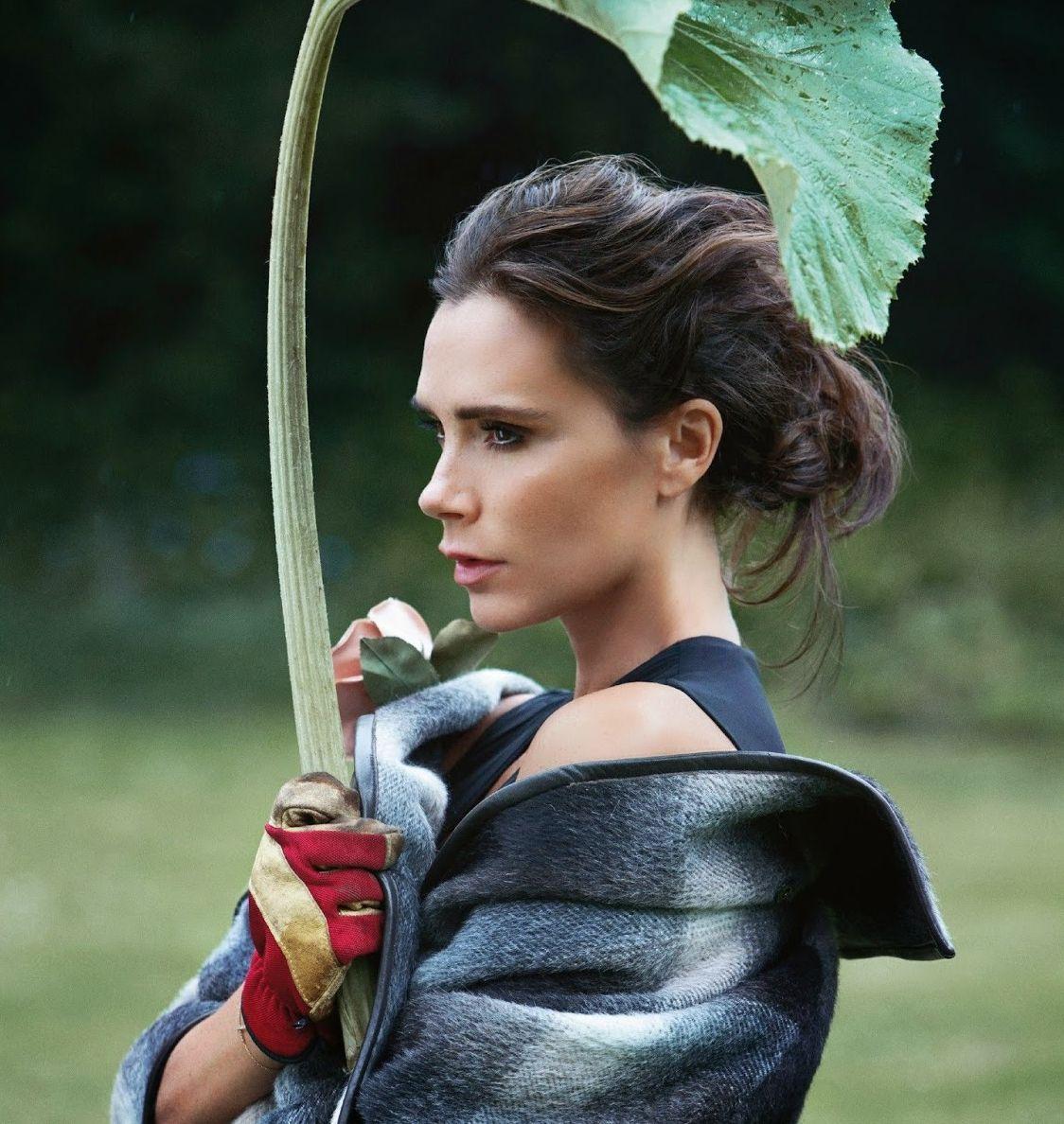 Виктория Бекхэм блистает в новой фотосессии