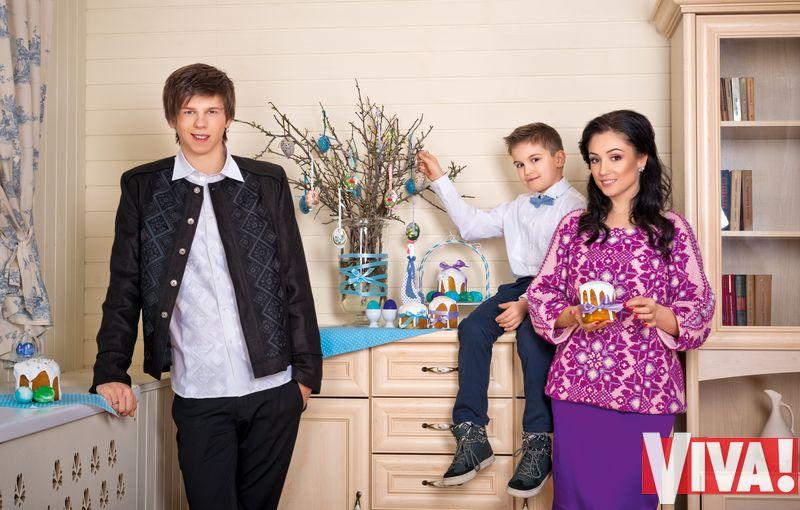 Александр Лещенко и Лина Верес с сыном