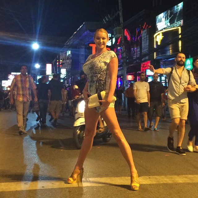 Волочкова в Таиланде