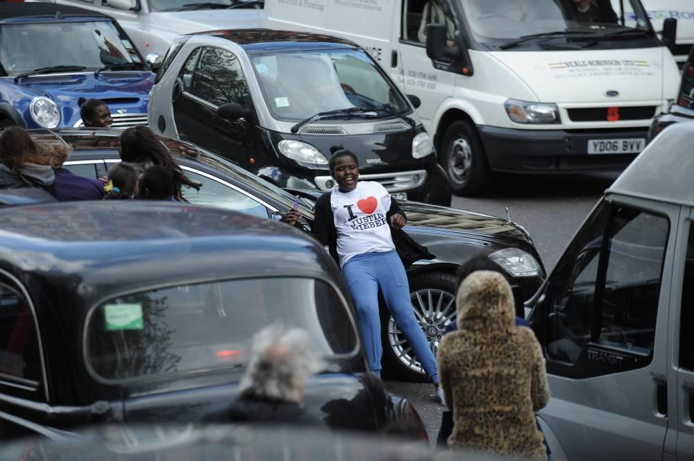 Фото машины джастина бибера