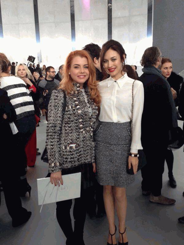 Юлия Лаута и Ольга Куриленко