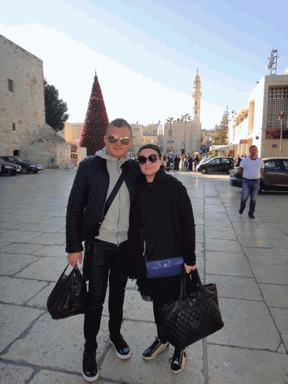Юрий Горбунов с женой
