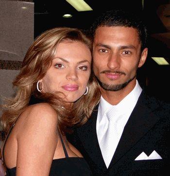 Андрей Кише с женой