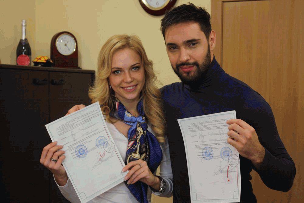 Виталий Козловский и Юлия Думанская