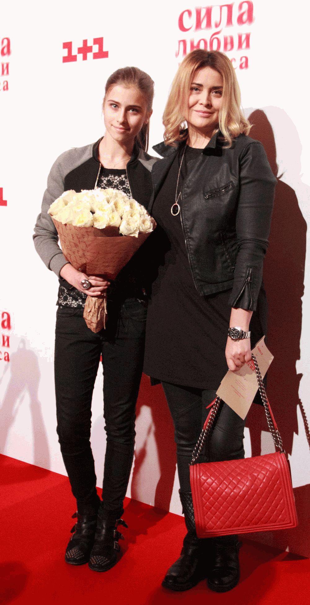 Светлана Евдокименко с дочкой