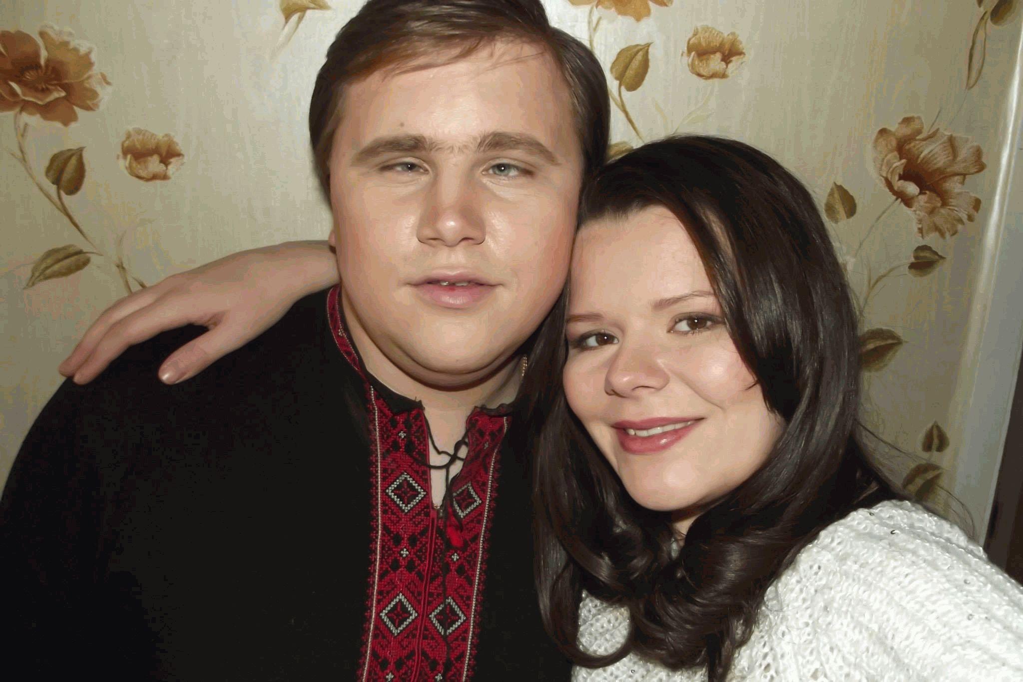 Иван Ганзера с женой Олей