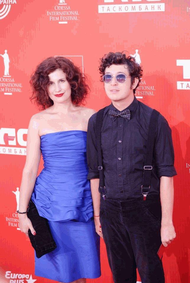 Дмитрий Шуров с женой