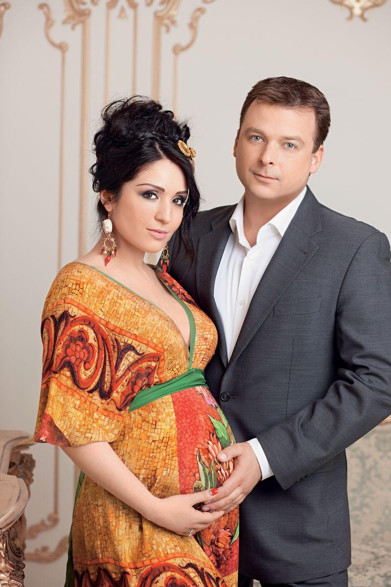 Ангелина Завальская и ее муж Александр Колодий