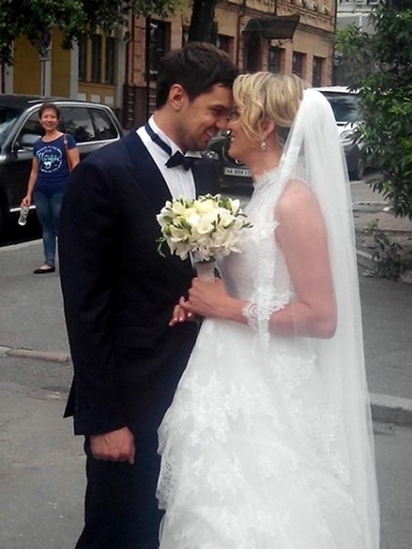 Константин Евтушенко и жена Наталья Добрынская
