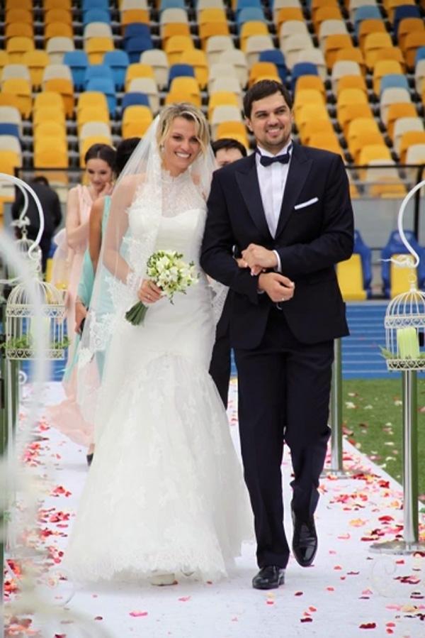 Константин Евтушенко и Наталья Добрынская свадьба