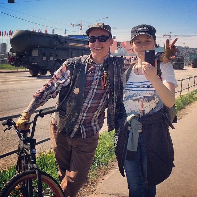 Иван Охлобыстин и его жена