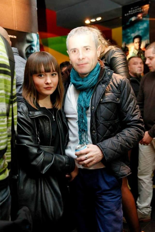 Константин Грубич с дочерью Ольгой
