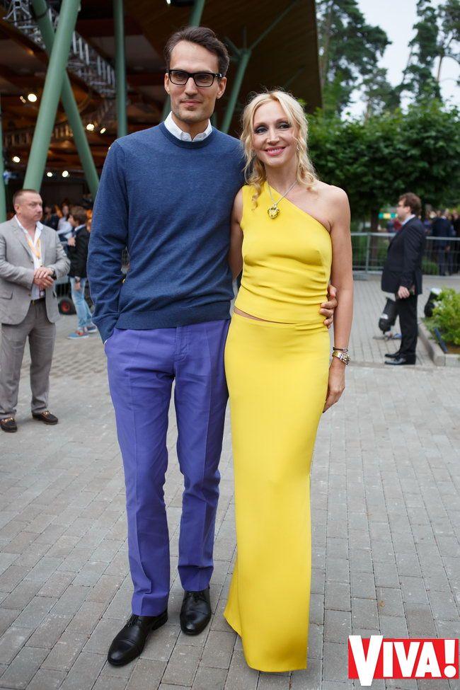 Кристина Орбакайте с мужем на конкурсе Новая волна 2013