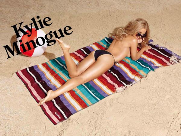 Кайли Миноуг демонстрирует идеальную фигуру в бикини
