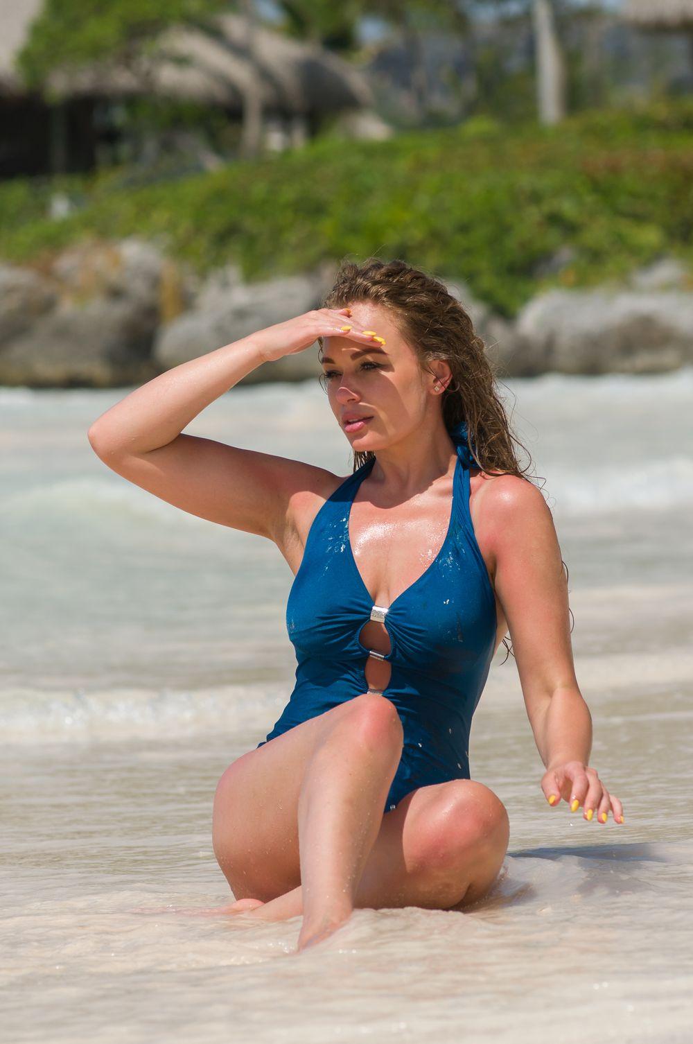 Яна Соломко на Мальдивах