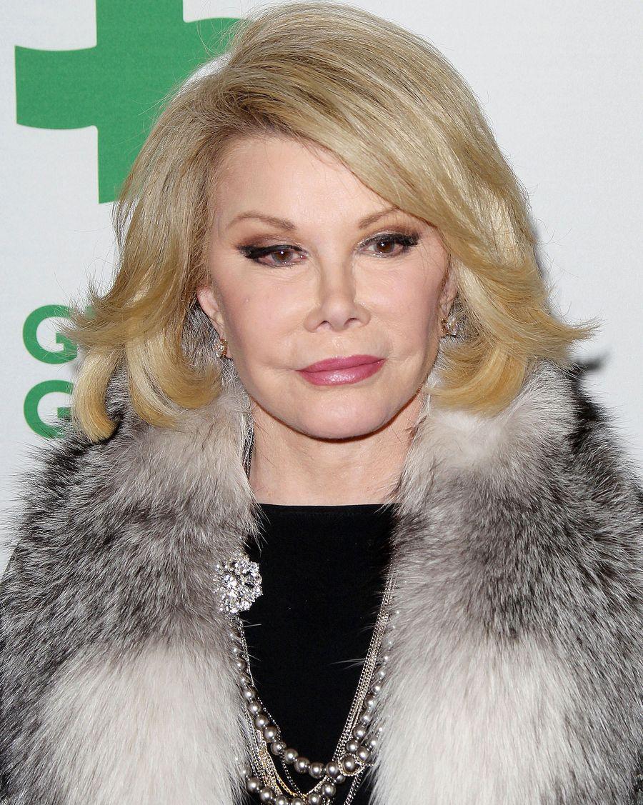 Врачи вывели из комы знаменитую телеведущую Джоан Риверз
