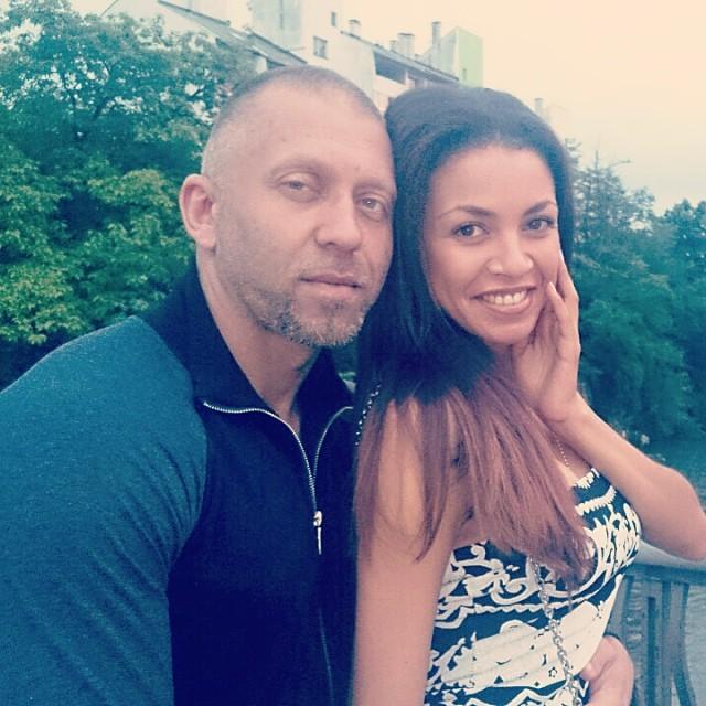 Серега с женой