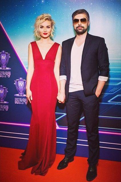 Полина Гагарина и ее муж Дмитрий Исхаков