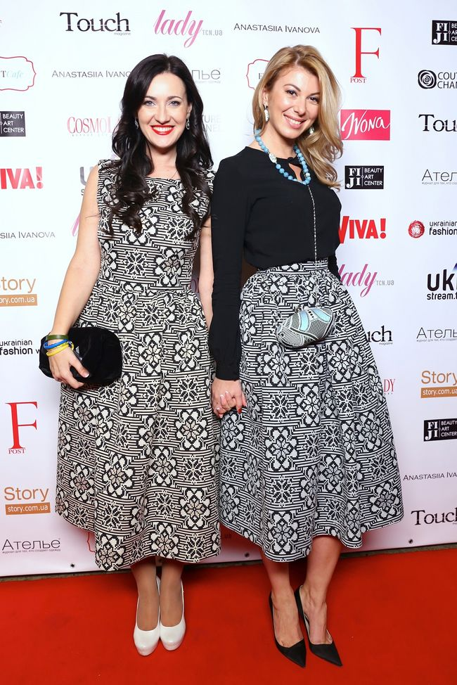 Соломия Витвицкая и Марыся Горобец на Ukrainian Fashion Week