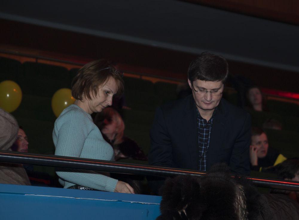 Игорь Кондратюк и его жена