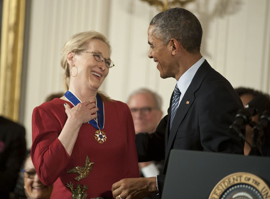 Президент США признался в любви Мерил Стрип