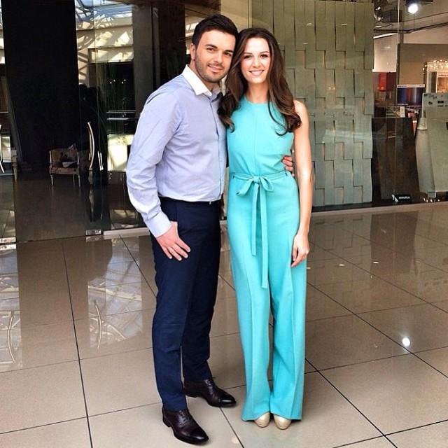 Григорий Решетник и его жена Кристина
