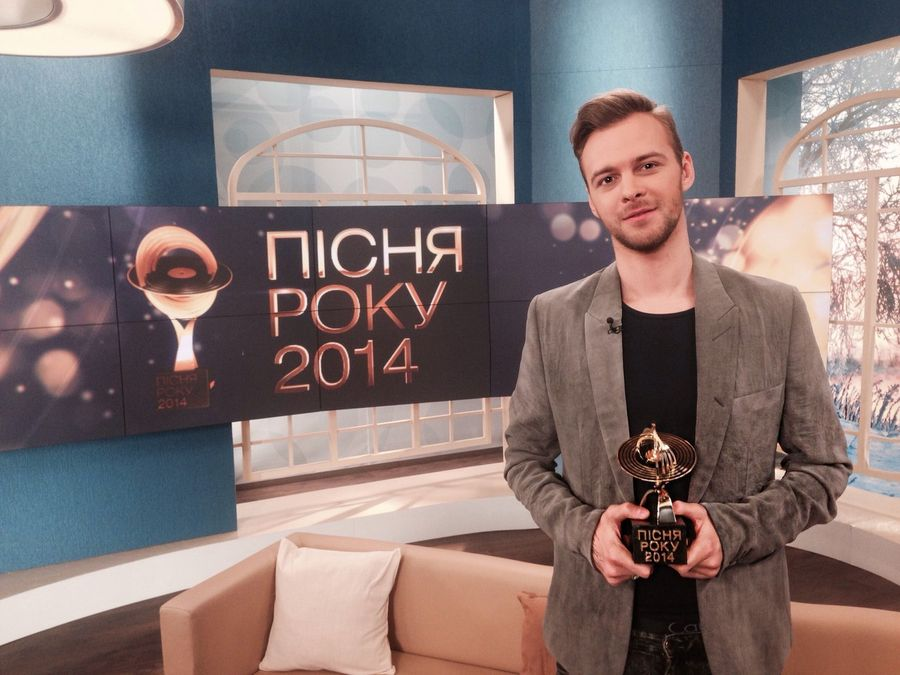 Макс Барских получил награду Песня года 2014