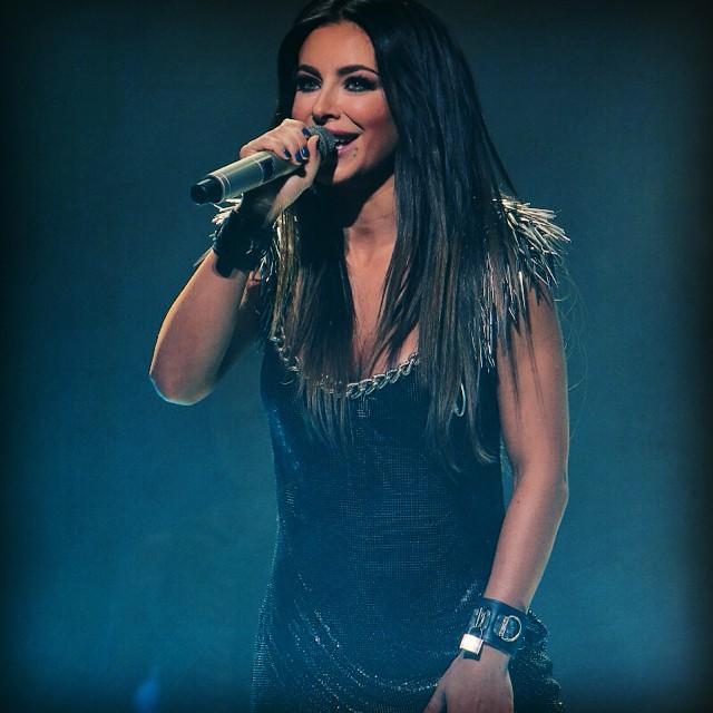 Ани Лорак на концерте в Киеве
