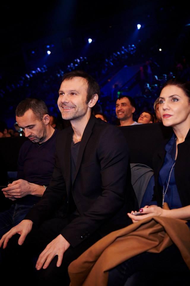 Святослав Вакарчук показал свою жену Лялю Фонареву