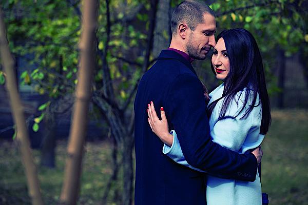 Денис Силантьев и его жена Инна