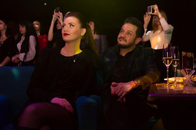 Эктор Хименес-Браво и его невеста пришли на концерт Евгения Хмары