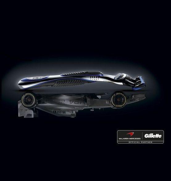 Gillette и McLaren