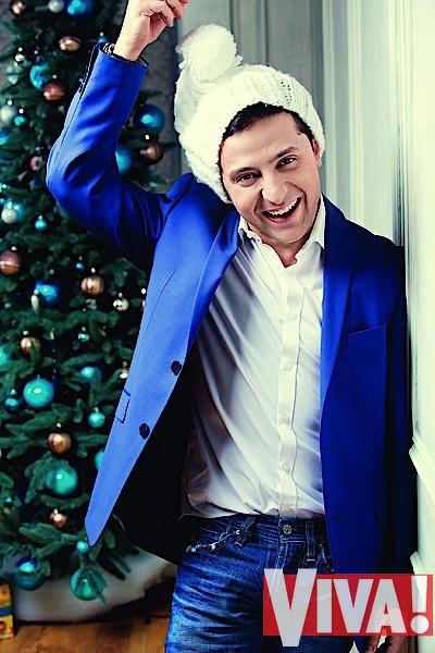 Владимир Зеленский в фотосессии для Viva!