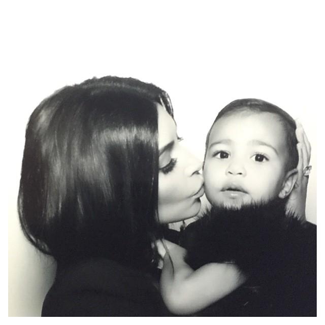 дочь Ким Кардашьян – копия своей звездной мамы