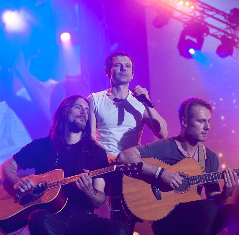 Океан Ельзи на концерте в Киеве