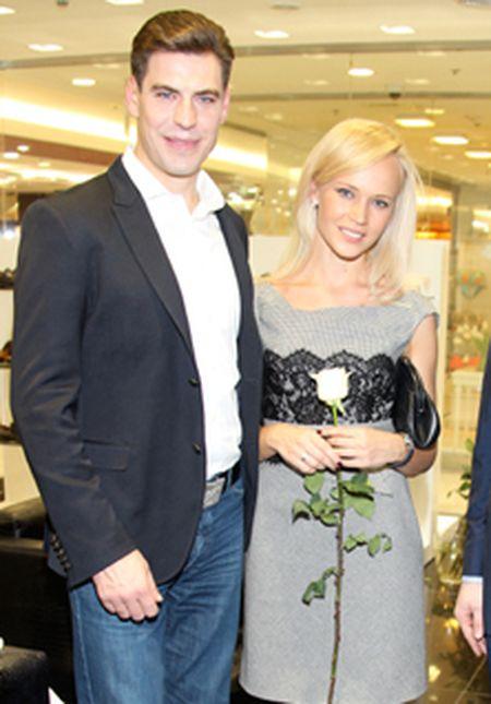 Дмитрий Дюжев и его жена Татьяна