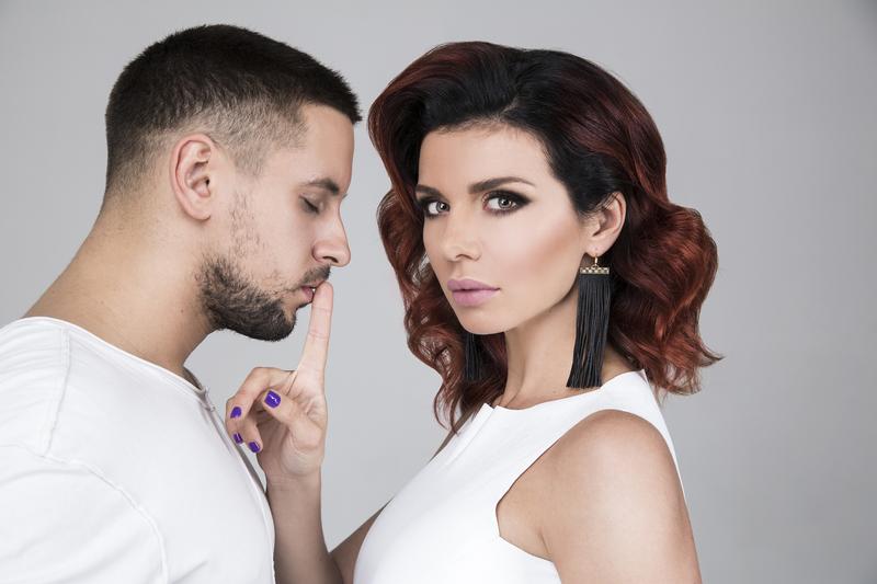 Анна Седокова и Дима Монатик